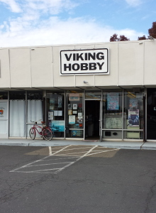 Viking Hobby front entrance
